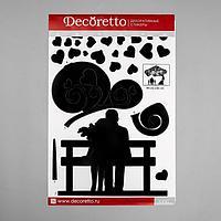 """Наклейки Decoretto """"Долгожданное свидание"""" 50х70 см (набор 3 листа)"""