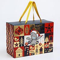 Пакет-коробка подарочная 'Happy new year', Me To You