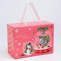 Пакет-коробка подарочная 'Winter present', Me To You