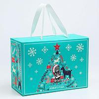 Пакет-коробка подарочная 'Счастливого нового года', Me To You