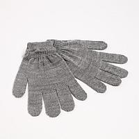 Перчатки женские, цвет светло-серый, р-р 18