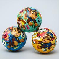Мягкий мяч PAW PATROL 'Цифры' 6,3см, микс (комплект из 12 шт.)