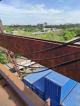 Рихтовка подкрановых путей опорных кранов, фото 2