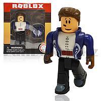 Фигурка Roblox пластиковая 7 см Парень с жилетом