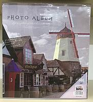 Фотоальбом 500 фото 10х15 см в твердой обложке Мельница в чехле