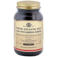 Solgar (Солгар) Йод из бурых водорослей и йодида калия 20мкг 250 таблеток