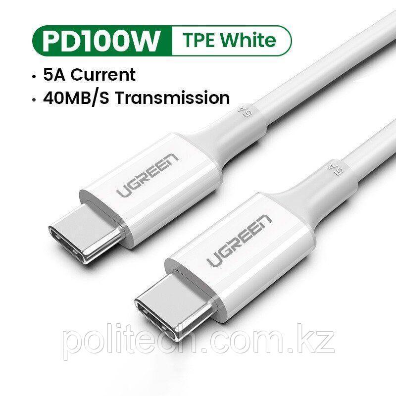 Кабель USB-C US323 1m Black