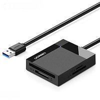 Картридер CR125 USB 3.0 1m UGREEN