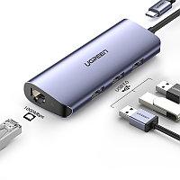 CM252 USB-C To USB 3.0+RJ45+mUSB