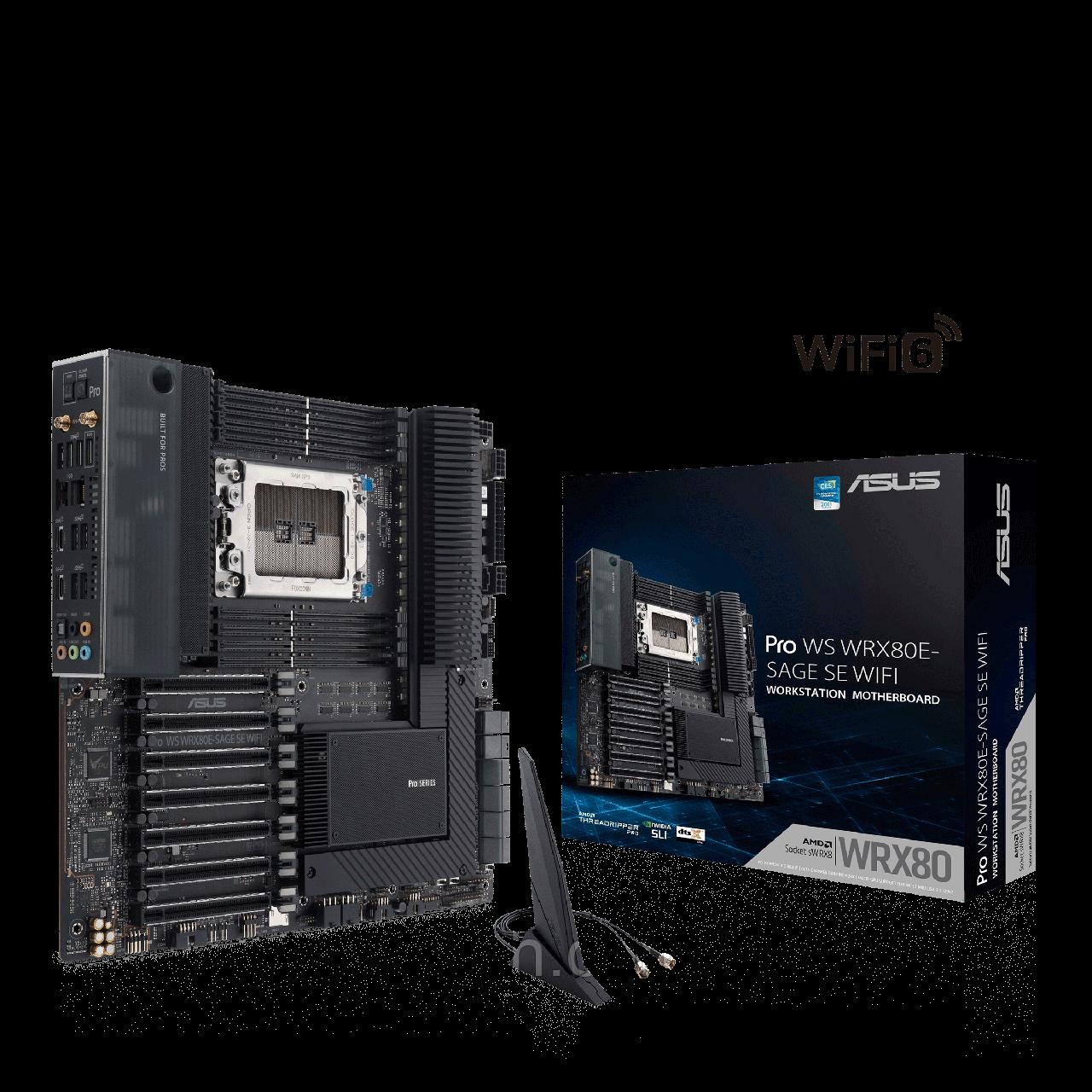 PRO WS WRX80E-SAGE SE WIFI ASUS