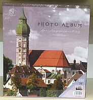 Фотоальбом 500 фото 10х15 см в твердой обложке Замок в чехле