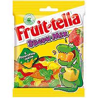 """Жевательный мармелад Fruittella """"Звери микс"""", 70г, пакет, европодвес 8250139"""