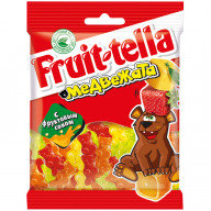 "Жевательный мармелад Fruittella ""Медвежата"", 70г, пакет, евр"
