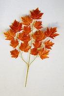 Искусственные ветки осенних листьев в ассортименте
