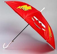 Зонт детский Тачки красный диаметр 70 см