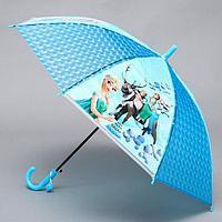 Зонт детский Холодное сердце диаметр 80 см