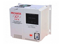 Стабилизатор напряжения электронный (релейный) РЕСАНТА АСН-3000Н/1-Ц -3 кВт - Настенный
