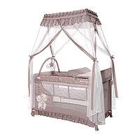 Манеж - кровать MAGIC SLEEP, цвета: синий, розовый, бежевый