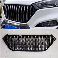 Решетка радиатора Black-Chrome на Hyundai Tucson 2015-18