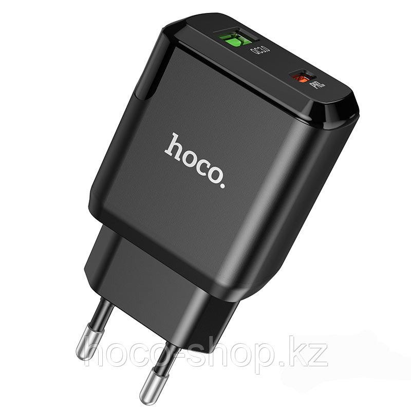 Зарядное устройство для телефона Hoco N5 PD20W+Q3.0, черный