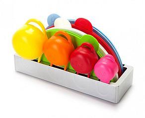 Набор разделочных досок с мерными чашами на подставке День Матери!, фото 2