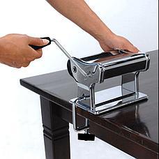 Машинка для приготовления пасты – Лапшерезка (PASTA MACHINE) День Матери!, фото 3