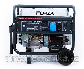 Генератор бензиновый 7 кВт (7,5 кВт) с электростартером FORZA FPG9800E