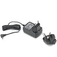 Level VI AC/DC Power Supply Wall Adapter, with Captive DC Cable and EU, UK Adapter Clip. AC Input: 100-240V,