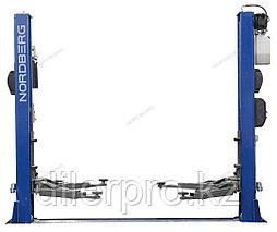 Подъемник двухстоечный с нижней синхронизацией, г/п 4,5 т NORDBERG N4125-4,5T