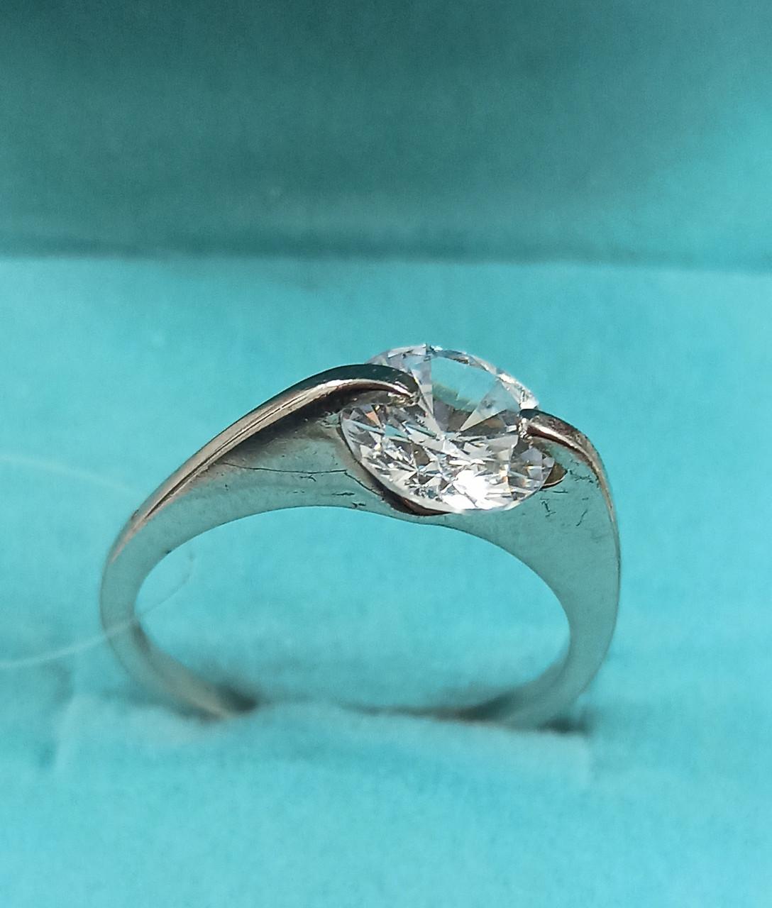 """Кольцо серебро """" Фидели """" Размер кольца 17, 5."""