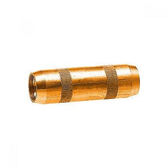 Муфта соединительная 16 мм, латунь