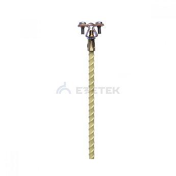 Держатель изолированного токоотвода 8-10мм (750 мм), медь