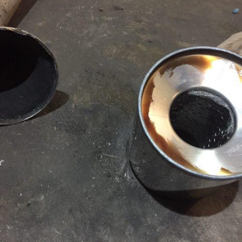 Удаление сажевого фильтра. Установка пламегасителей