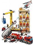 Конструктор Аналог Лего LEGO City 60216 Lari City Центральная пожарная станция 11216, фото 3