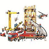 Конструктор Аналог Лего LEGO City 60216 Lari City Центральная пожарная станция 11216, фото 4
