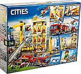 Конструктор Аналог Лего LEGO City 60216 Lari City Центральная пожарная станция 11216, фото 2