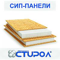 SIP панель (140мм) 2500*1250*160мм (OSB-3, 10мм ПСБ-С-20пл.)