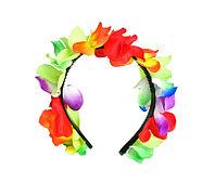 Ободок гавайский из цветов