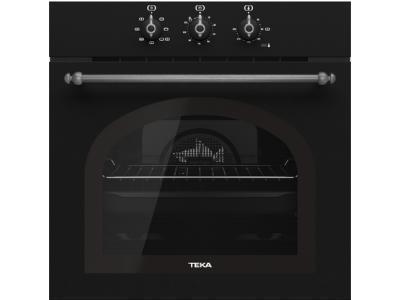 Духовой шкаф TEKA HRB 6100 ATS BRASS черный-серебристый