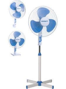 Вентилятор Kraft FS40-315 белый-синий