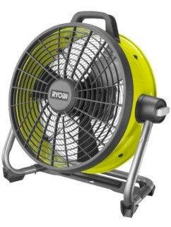 Вентилятор RYOBI R18F5-0 ONE+ зеленый