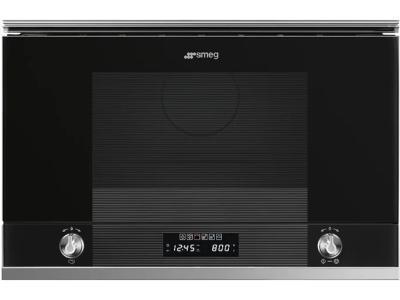 Микроволновая печь Smeg MP122N1 черный