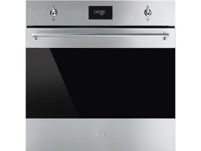 Духовой шкаф Smeg SF6301TVX серебристый