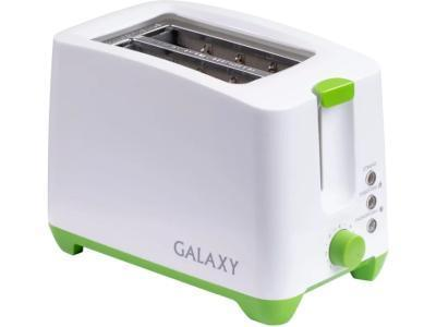 Тостер Galaxy GL 2907 белый-зеленый