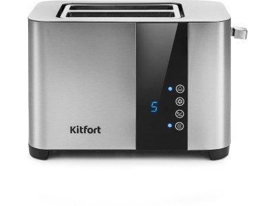 Тостер Kitfort КТ-2047 серебристый