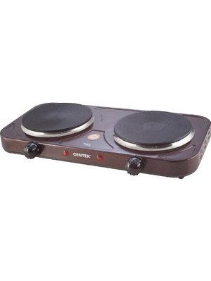 Настольная плита CENTEK CT-1507 коричневый
