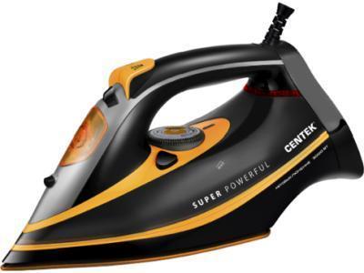 Утюг CENTEK CT-2358 черный-желтый