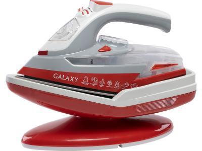 Утюг Galaxy GL 6150 белый-красный
