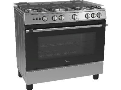 Кухонная плита Midea FSC-900BX серебристый