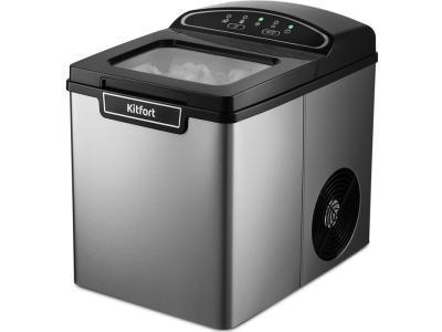 Льдогенератор Kitfort КТ-1807 серебристый-черный